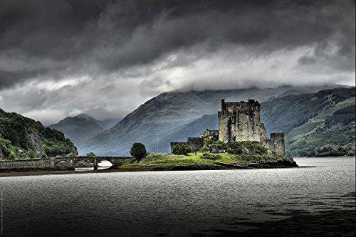 Eilean Donan Castle (Postereck - 0157 - Eilean Donan Castle Schottland - Poster 90.0 cm x 60.0cm)