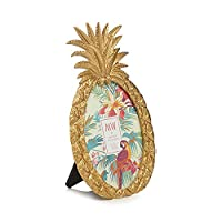Butterfly Home by Matthew Williamson Gold Pineapple Photo Frame