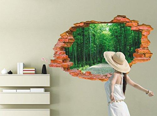 sentier-borde-darbres-mode-creative-effet-stereo-3d-autocollant-mur-murale-6090cm-yuxin