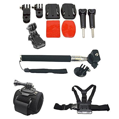 14pezzi in 1set accessori kit casco Monte anteriore da utilizzare