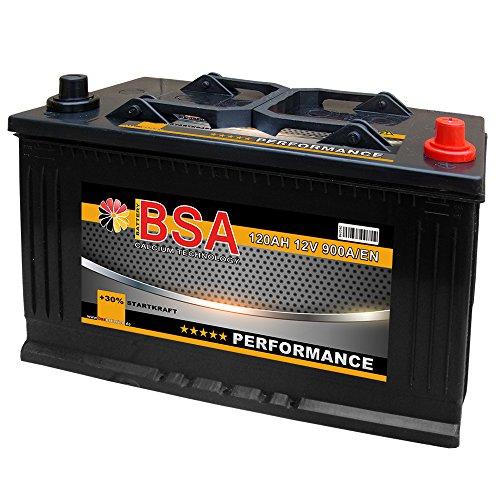 BSA LKW Batterie 120Ah 12V Iveco Daily Transporter Starterbatterie 110Ah 115Ah