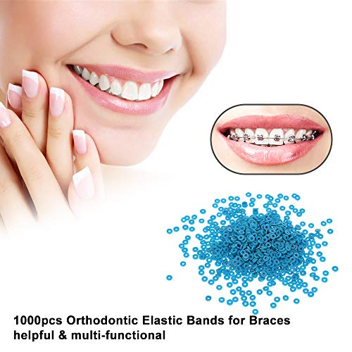 YAMEIJIA Banda elástica ortodoncia Banda Goma Dental