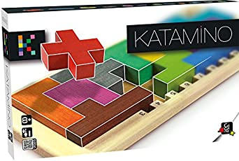 Gigamic Katamino Wood Puzzle, Multi Color