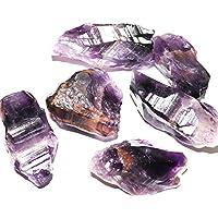 R.R. SHEIKH GEMS 250+ GM Natural Amethyst Rough Raw Rock Healing Gemstone -Set of 5-7 Stones