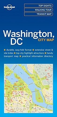 Lonely Planet Washington DC City Map (Lonely Planet City Maps)