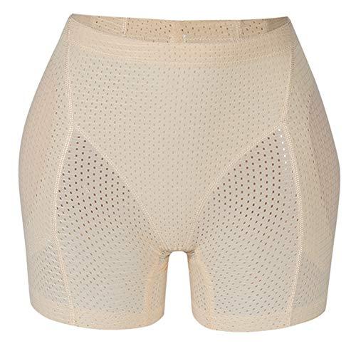 AMURAO Frauen Breathable Bauch-Steuerschlüpfer-Fälschungs-Ass Pads Hip Enhancer -
