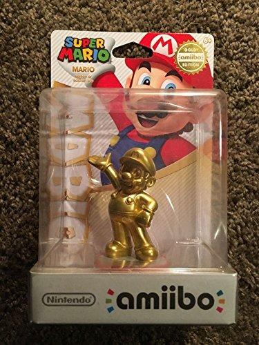 Mario - Gold amiibo (Super Mario Bros Series) by Nintendo (Gold Mario Amiibo)