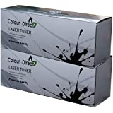 2 X Colour Direct Toner Cartrdige Replacement For OKI B411/B431/MB461/MB471/MB491 Printers , 4,000 Page Yield
