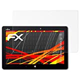 atFolix Schutzfolie kompatibel mit Fujitsu Stylistic Q775 Bildschirmschutzfolie, HD-Entspiegelung FX Folie (2X)