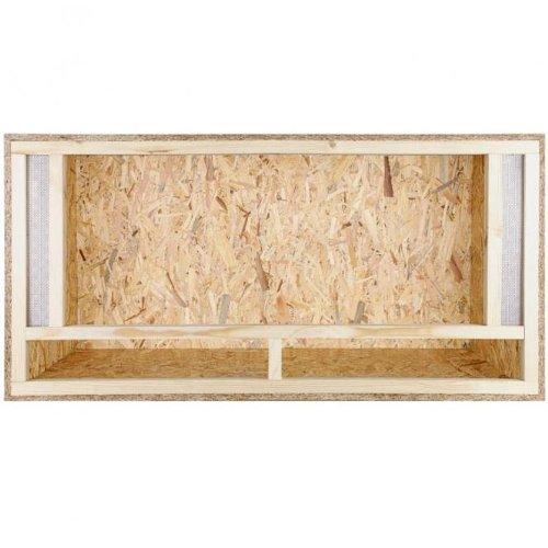 Holzterrarium für Bartagamen 120x60x60 mit Frontbelüftung