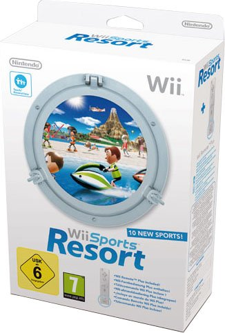 WII Sports Resort+Telec. WII Plus Bianco