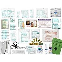 Komplett-Set Erste-Hilfe KITA PLUS 4 DIN/EN 13157 für Betriebe incl. Sprühpflaster, Hände-Antisept-Spray & Notfallbeatmungshilfe preisvergleich bei billige-tabletten.eu