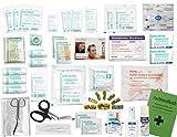 Komplett-Set Erste-Hilfe KITA PLUS 4 DIN/EN 13157 für Betriebe incl. Sprühpflaster, Hände-Antisept-Spray & Notfallbeatmungshilfe