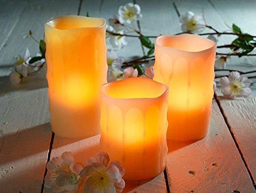 Juego de velas led de cera Vela LED Velas Candle