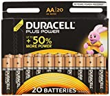 Duracell Plus Power Alkaline Batterien AA 15+5 Special Offer Pack