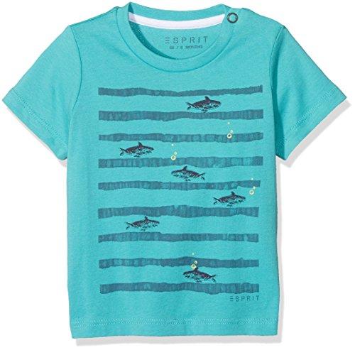 Süße Kleidung Jungs (ESPRIT Baby-Jungen T-Shirt RL1008202, Türkis (Teal 500), 86)