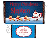 Eternal Design 1 x Personalised Christmas Kids Chocolate...