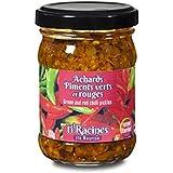 Achards de Piments verts et rouges Ti Racines 100gr