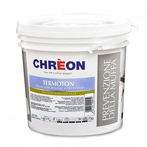 Lechler - chreon - termoton 1 lt. bianco pittura antimuffa termica anticondensa