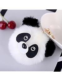 CAOLATOR Llavero de Amantes Creativo Llavero Panda para Parejas Decoraci/ón del Coche//Tel/éfono//Bolso de Mano//Cartera Accesorios Moda Regalo