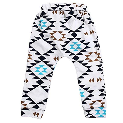 Demiawaking Neugeborene Baby Jungen Mädchen Unterseiten Hosen Leggings Pants Kleidung (24-36 Monate)