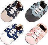 MiniFeet Weiche Leder Babyschuhe