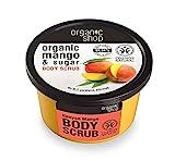 ORGANIC SHOP - Scrub Copro al Mango del Kenya - Rinnova la pelle - Straordinaria Morbidezza e Luminosità - Lascia un profumo delicato - Naturale - 250 ml