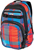 Nitro Snowboards Rucksack Chase, Plaid Red-Blue, 51 x 37 x 23 cm