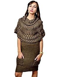 LAVAND - Vestido - suéter - Manga corta - para mujer