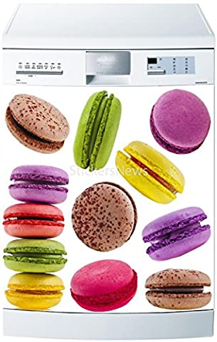 Stickers Macarons - Stickersnews - Stickers lave vaisselle ou magnet