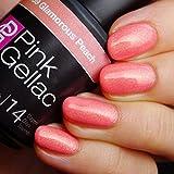 Pink Gellac Glamorous Peach 15ml Gel Nail Polish by Pink Gellac