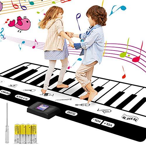 Musical Alfombra para ni?os,Alfombra de Piano Manta de Juguete , Dancing Challenge...
