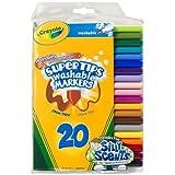 Crayola 20ct Washable Super Tips (5 Fun-Scented Markers Included), art, ideas, for, kids bébé, nourrisson, enfant, jouet