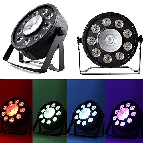 OUBAYLEW 80W LED RGB DMX512 PAR Bühnenbeleuchtung DJ Disco Party Strahler Bühnenlicht