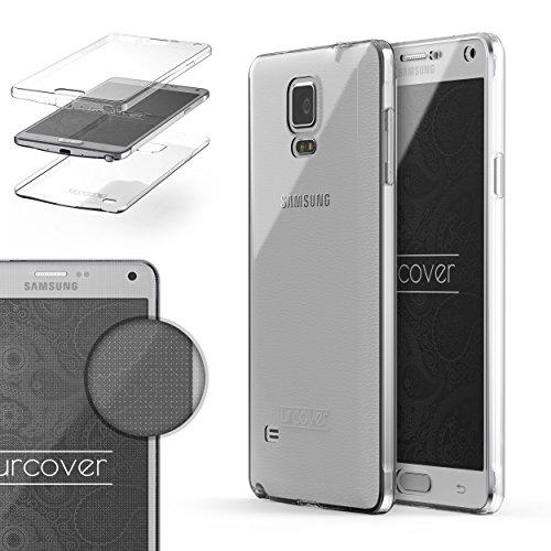Samsung Galaxy Note 4 Handyhülle von Original Urcover® in der TPU Ultra Slim 360 Grad Edition Galaxy Note 4 Schutzhülle Case Cover Etui Klar [DEUTSCHER FACHHANDEL] (Handy Cover Galaxy Note 4)