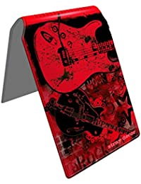 Stray Decor (Rock Guitar) Étui à Cartes / Porte-Cartes pour Titres de Transport, Passe d'autobus, Cartes de Crédit, Navigo Pass, Passe Navigo et Moneo