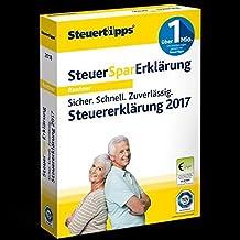Steuer-Spar-Erklärung Rentner & Pensionäre 2018 (für Steuerjahr 2017) (FFP)