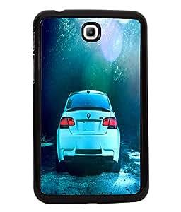 Printvisa 2D Printed Car Designer back case cover for Samsung Galaxy Tab 3 7.0 - D4500