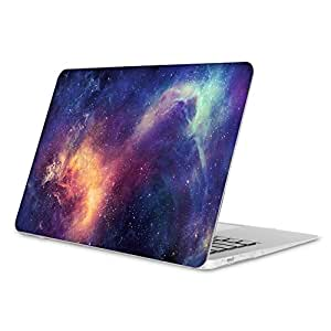 Fintie Hülle für MacBook Air 13 - Ultradünne Plastik Hartschale Schutzhülle Snap Case für Apple MacBook Air 13.3 Zoll (A1466 / A1369), Galaxis