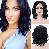 Best Lace Front Wigs - Parrucca Lace Front Nera Wig Parrucca Donna Corta Review