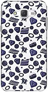 The Racoon Grip printed designer hard back mobile phone case cover for Samsung Galaxy J7. (Pruscian P)