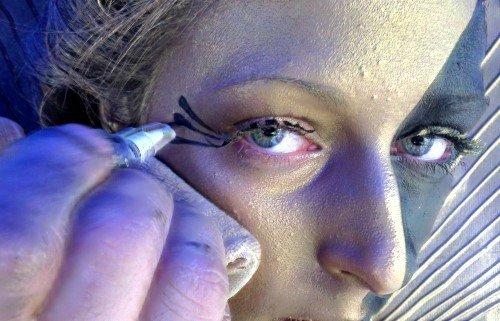 Senjo-Color Face- & Body-Liner, Farbton:Schwarz