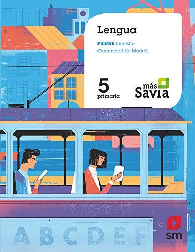 Lengua 5 Primaria Más Savia Madrid