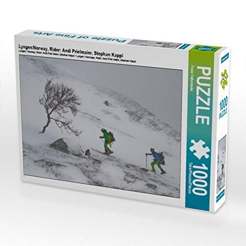Lyngen/Norway, Rider: Andi Prielmaier, Stephan Kappl 1000 Teile Puzzle quer -