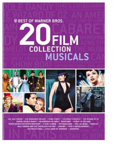 Best of Warner Bros. 20 Film Collection Musicals [DVD] [Import]
