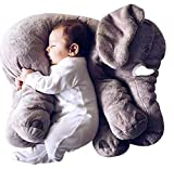 Besties Baby Elephant Pillow,Soft Toy. (Gray)