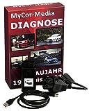 MyCor-Media Diagnose OBD Scanner 1.4 PASoft für BMW E46 E39 E38 E83 E53 E85 +Runder+Software