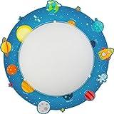 Dalber 41346techo/pared lámpara planetas del sistema solar, metal, azul, 43x 43x 8cm