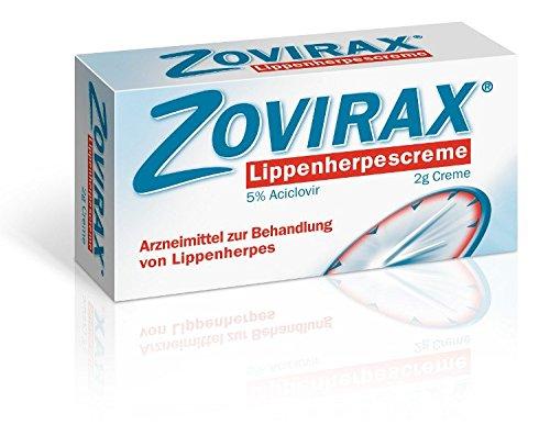ZOVIRAX Lippenherpescreme mit Aciclovir, 2g