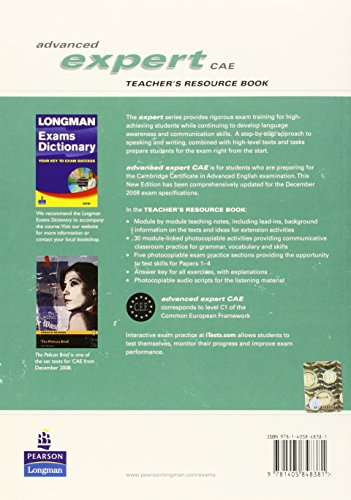 CAE Expert New Edition Teachers Resource book